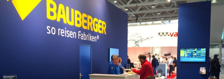 Bauberger AG at the Prodex 2016.